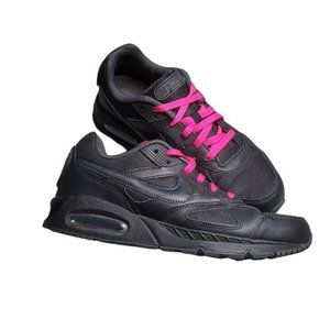 Nike Air Max IVO PRM Black Running Shoes, Size 10